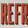 Enamel fairground sign: Refreshments, c. 1920s