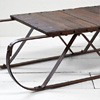 1930s shop display sled table