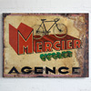 1930s French advertising sign: Mercier Cycles