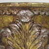 Victorian carved foliate wooden wall bracket