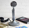 1980s desktop radio broadcast microphone