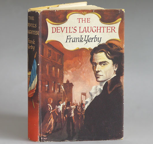 The Devil's Laughter, Frank Yerby: Book Club Edition, 1950s