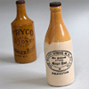 Early-1900s ginger beer bottle, Folkestone