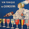 French lithograph poster: Dubonnet wine