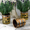 Endecotts particle filter brass planter