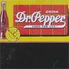 Dr. Pepper tin advertising blackboard, c. 1950