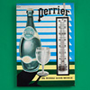 Mid-1900s thermometer sign: Perrier