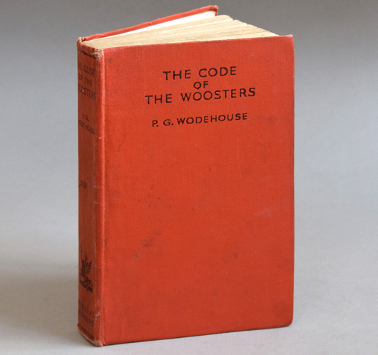 The Code Of The Woosters hardcover, PG Wodehouse, 1930s