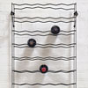 French iron wine bottle rack, c. 1930s