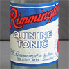 Early-1900s bottle with label: Rimmington's Quinine Tonic