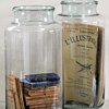30-litre hand blown glass jar