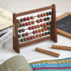 1930s French wooden abacus