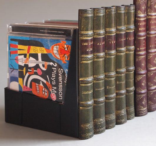 The Vintage Wall 2 X Faux Antique Leather Book Spine Cd Storage Bo & Antique Book Storage | Best 2000+ Antique decor ideas